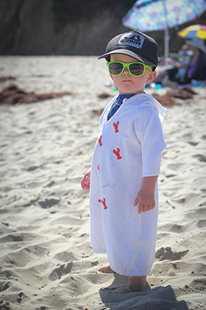 cool Gambie dude at beach-300px